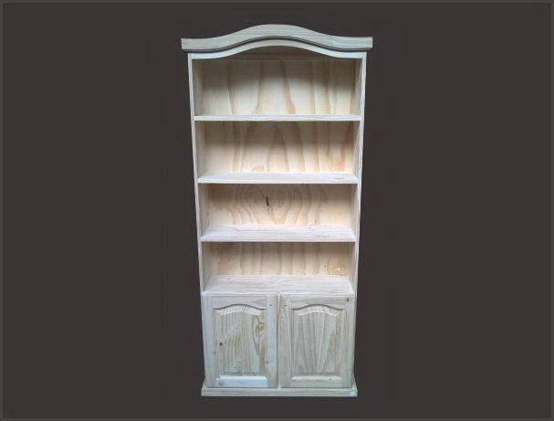 Muebles de pino popino for Muebles de biblioteca
